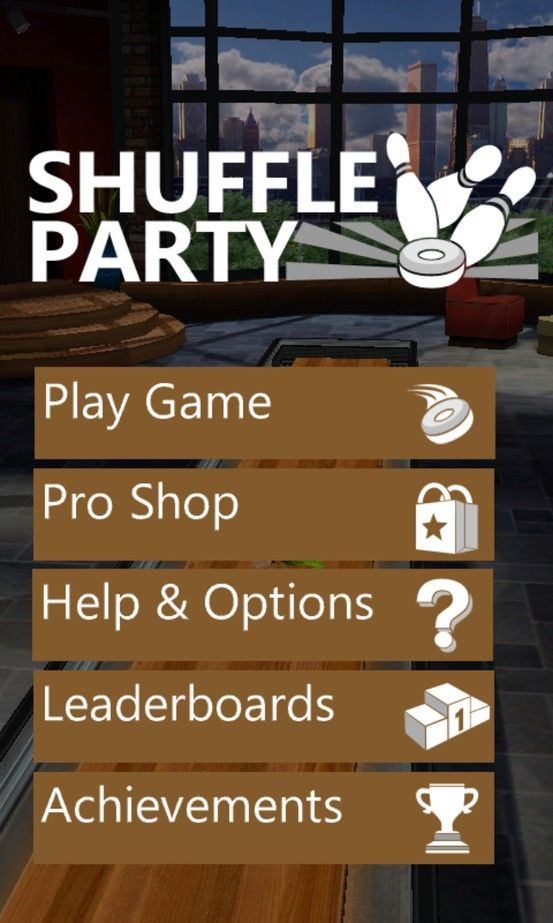 Shuffle Party Free to download and Xbox Live compatible
