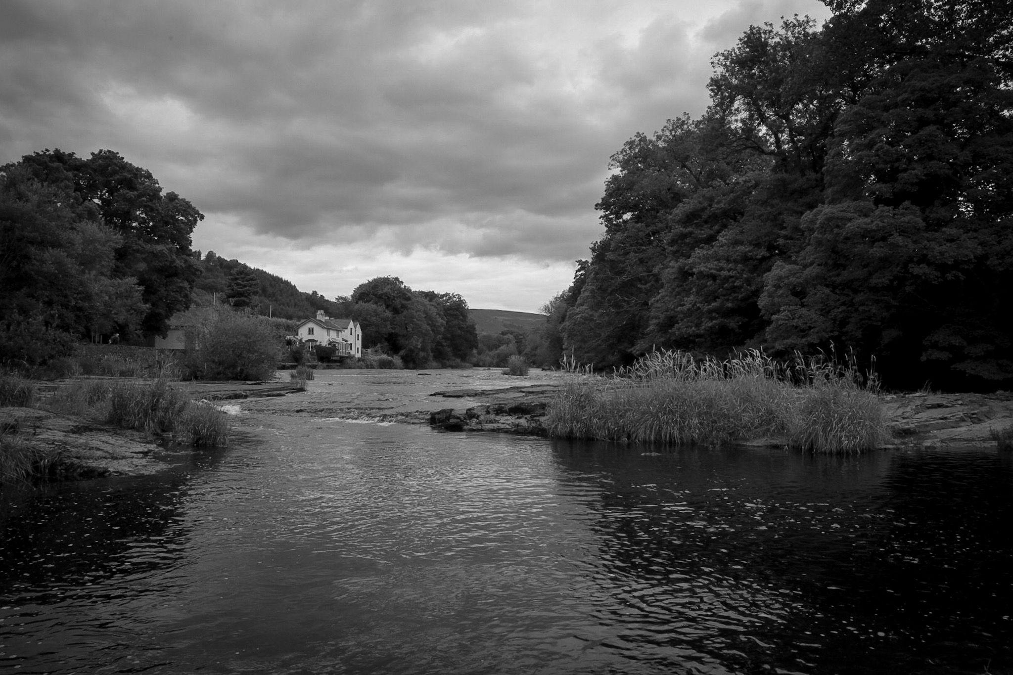 The river dee llangollen wales river outdoor water