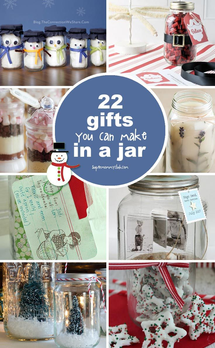 22 Frugal But Unique Homemade Christmas Gifts in a Jar Ideas | Gifts ...