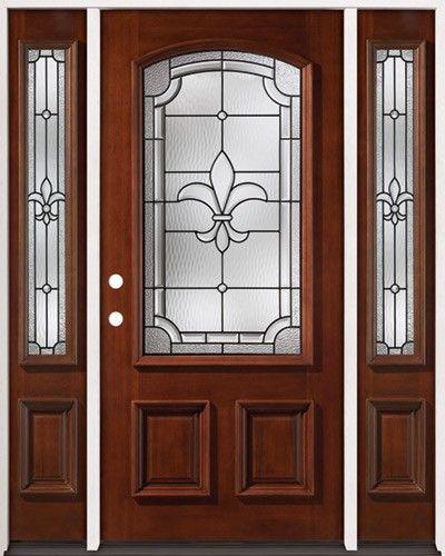 Mahogany Prehung Wood Door