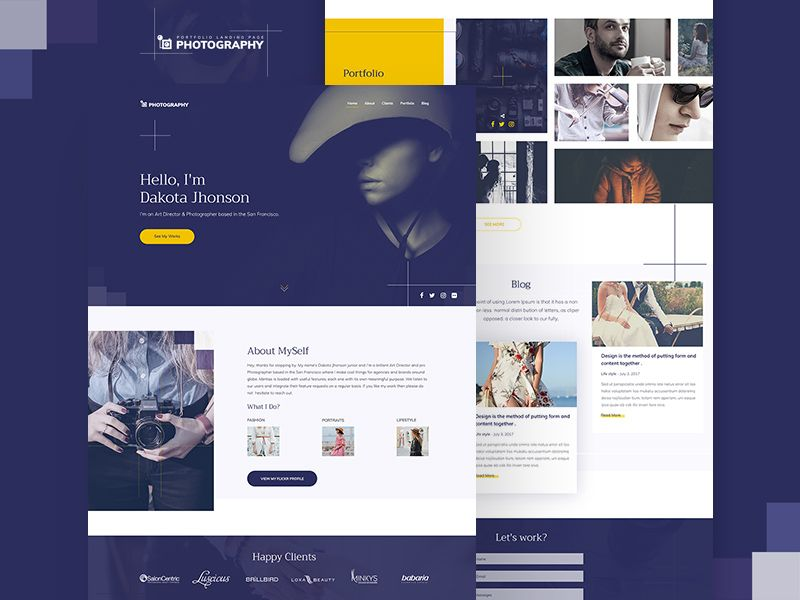 Photography Website Template Free Psd Photography Website Templates Free Photography Website Templates Website Template