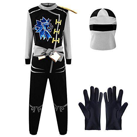 Katara 1771 Ninja Kostum Anzug Kinder Jungen Verkleidung Zum