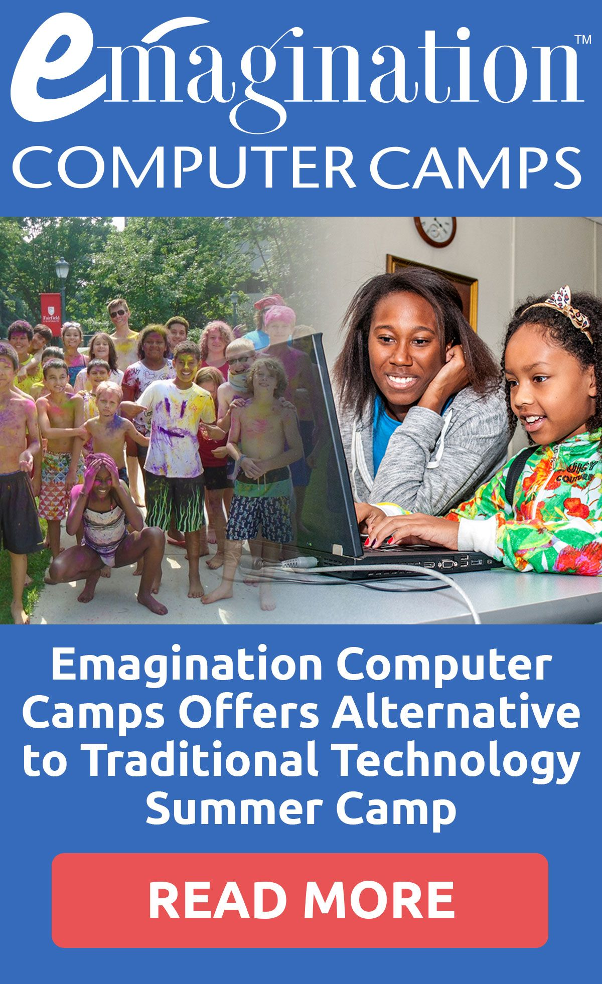 Emagination Computer Camps Offers Alternative To Traditional Technology Camps Technology Camp Computer Camp Summer Camps For Kids