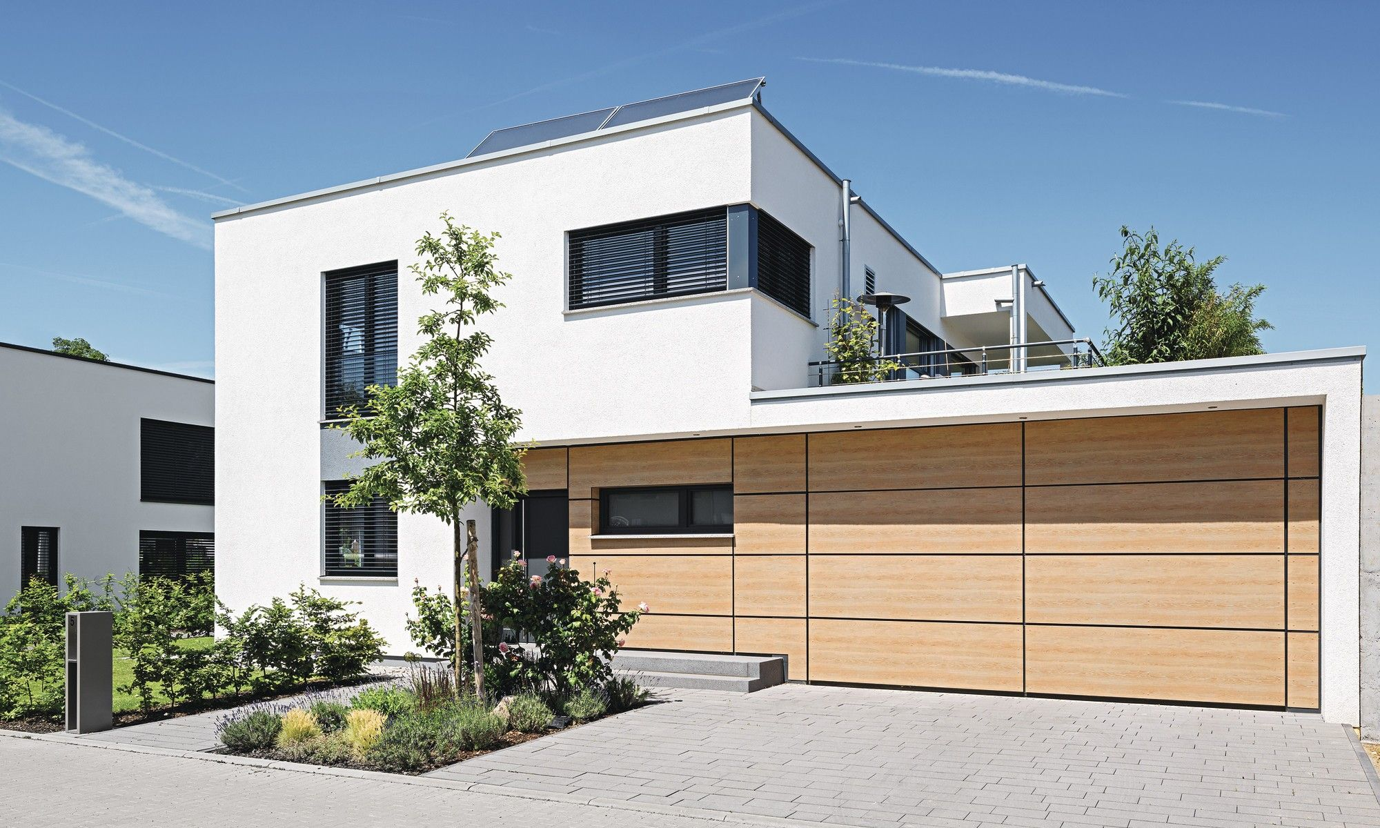 Musterhaus Leipzig Reprasentative Hauser Stadthaus Haus Garten In