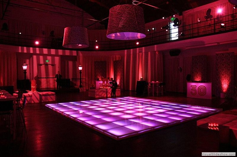 LED Lit Dance Floor Rental Amazing