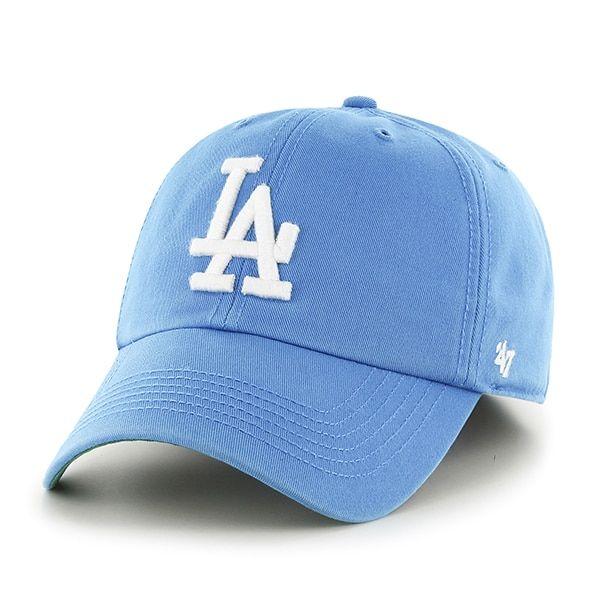 Los Angeles Dodgers 47 Brand Franchise Glacier Blue Fitted Hat Detroit Game Gear Dodgers 47 Brand Dodgers Merchandise