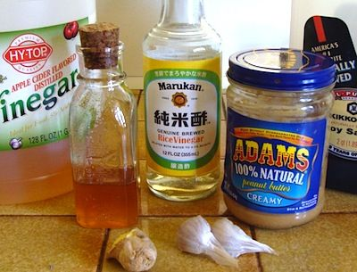Quick recipe for easy peanut sauce--have been trying to find this for years.