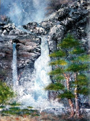 Cascade by Fabrice Peigné