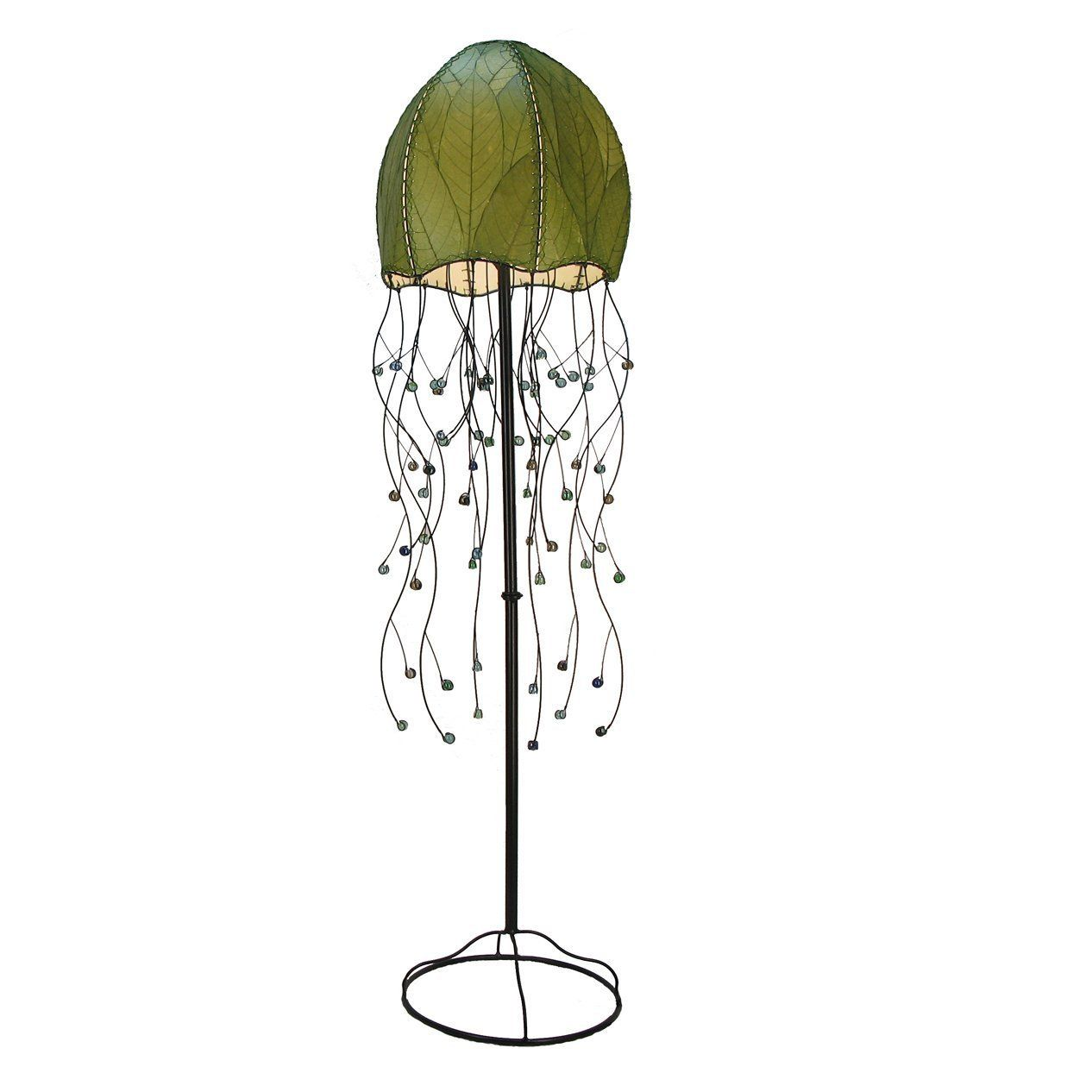 Eangee Home Designs 399 G 2 Light Jellyfish Floor Lamp - Amazon ...