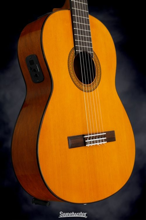 Yamaha Cgx102 Classical Natural Classic Guitar Guitar Acoustic Electric