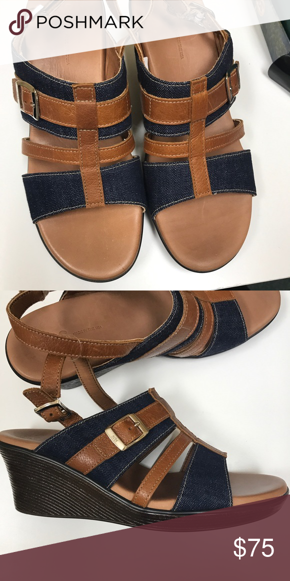 ddd04df0d90c42 SAS MADE IN USA SANDAL Leather and denim SAS Shoes Sandals