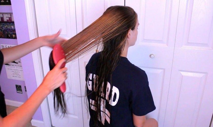 Long Hair Girl Masturbating