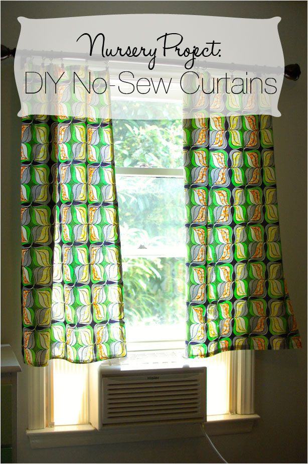 Diy No Sew Curtains Diy Curtains No Sew Curtains Curtains