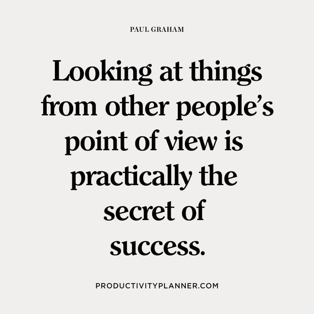 The Art Of Listening To Others And Understanding Their Point Of View Is A Key To Success Understanding Quotes Listening Quotes Point Of View Quotes