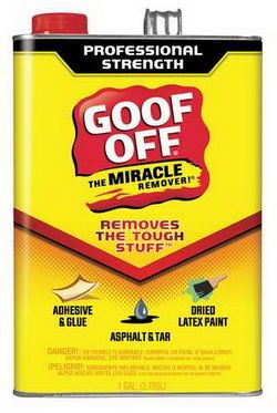 This Product Called U201cGoof Offu201d Is Perfect For Removing Dry Paint From Wood  Surfaces