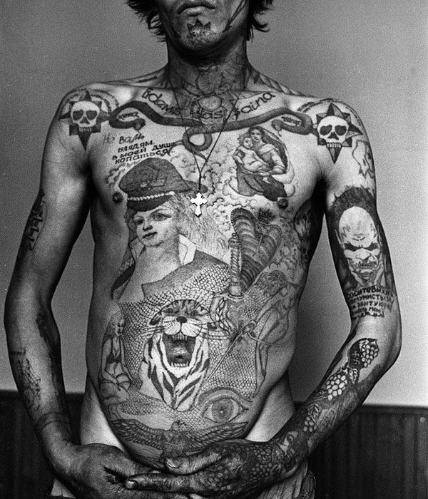 Russian prisoners archive ink pinterest russian for Russian style tattoo