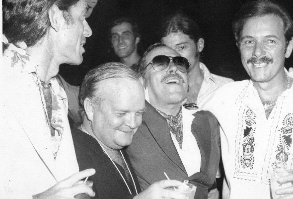 Truman Capote and Tennessee Williams