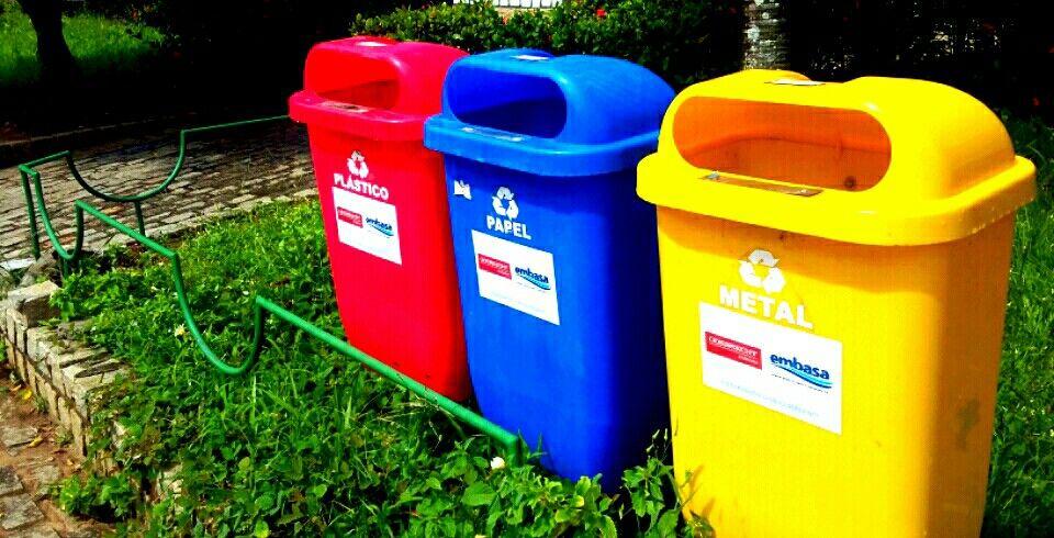 Vamos fazer a seleção  dos nossos resíduos.