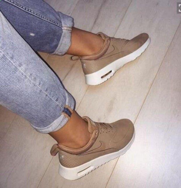 NIKE Women Men Running Sport Casual Shoes Sneakers Golden   nike shoes    Pinterest   Sport casual, Casual shoes and Shoes sneakers