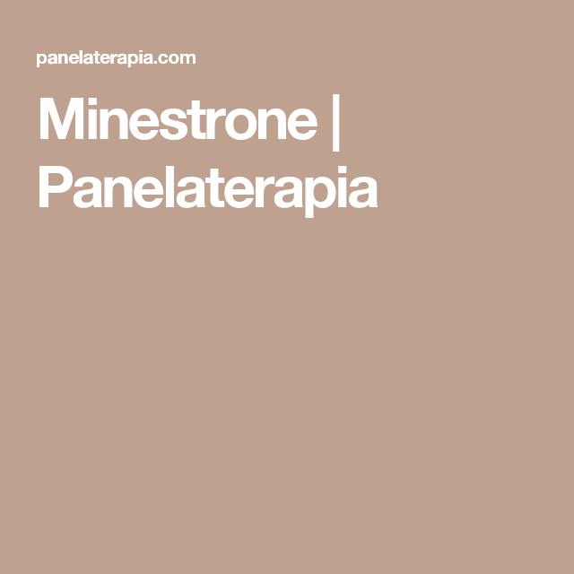 Minestrone | Panelaterapia