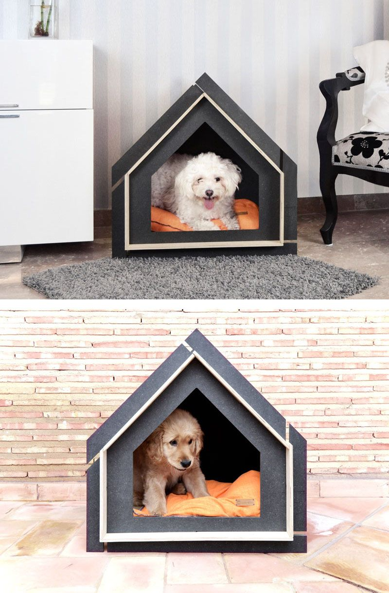 Cool Modern Simple Wooden House Designs To Be Inspired By: This Collection Of Modern Pet Houses Were Inspired By Swiss Mountains