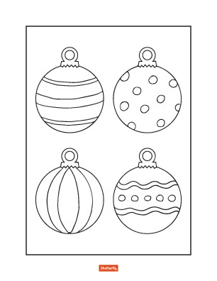 Christmas Balls Pictures To Color Christmas Coloring Page Free Color Christmas Coloring Pages Christmas Tree Coloring Page Printable Christmas Coloring Pages
