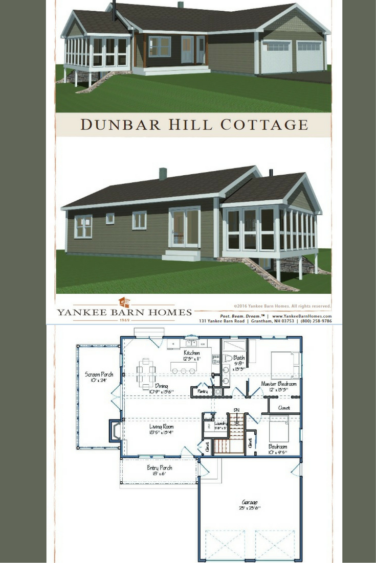 Dunbar hill barn barn house design and spaces small in foot print sq ft but large in open space design check out our newest small barn home the dunbar hill cottage malvernweather Gallery