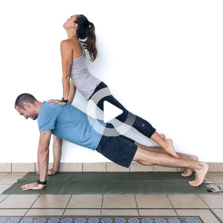 Couple S Yoga Poses 23 Easy Medium Hard Yoga Poses For Two People Couples Yoga Poses Two People Yoga Poses Partner Yoga Poses