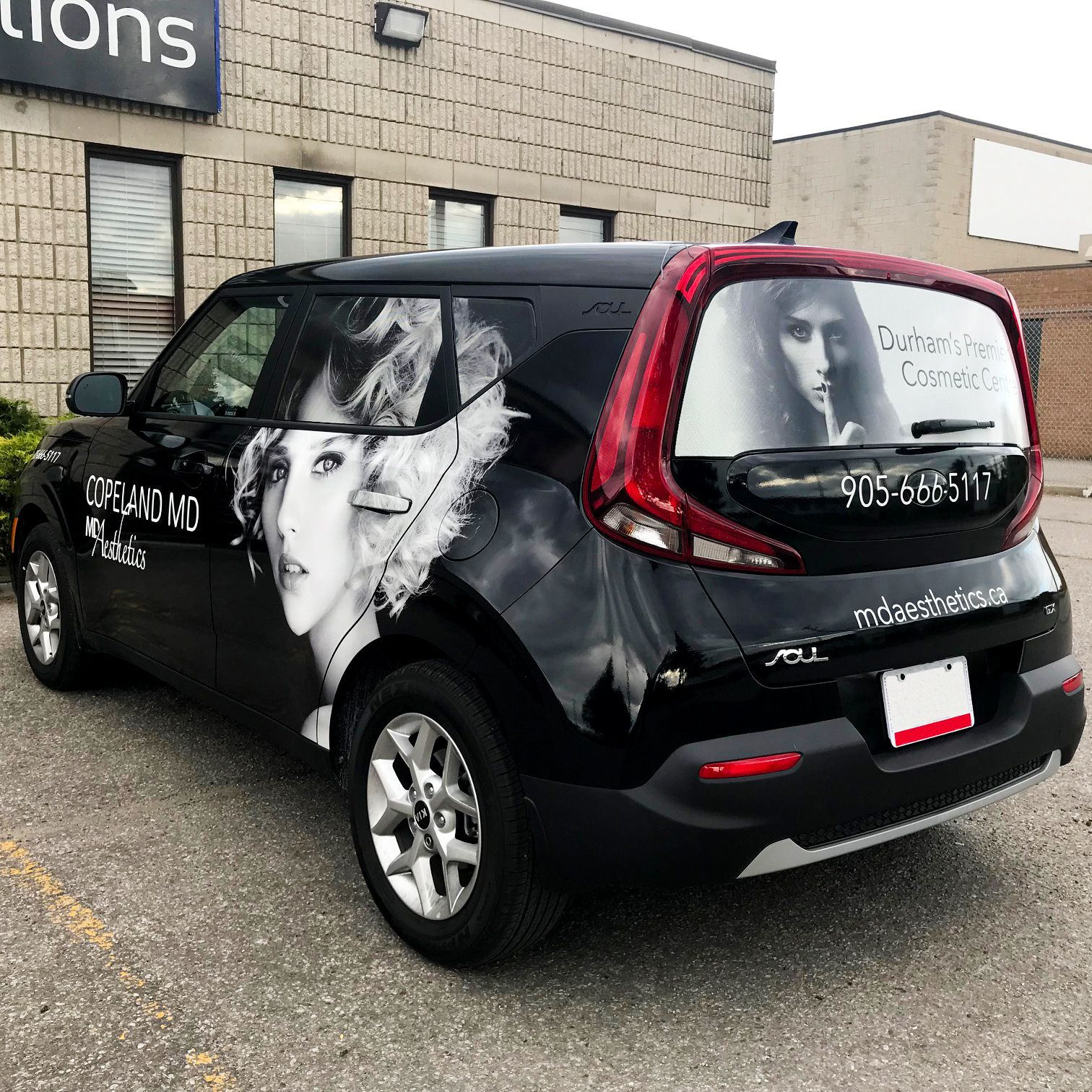 Brand New 2020 Kia Soul Fully Wrapped In Black Showcasing Our