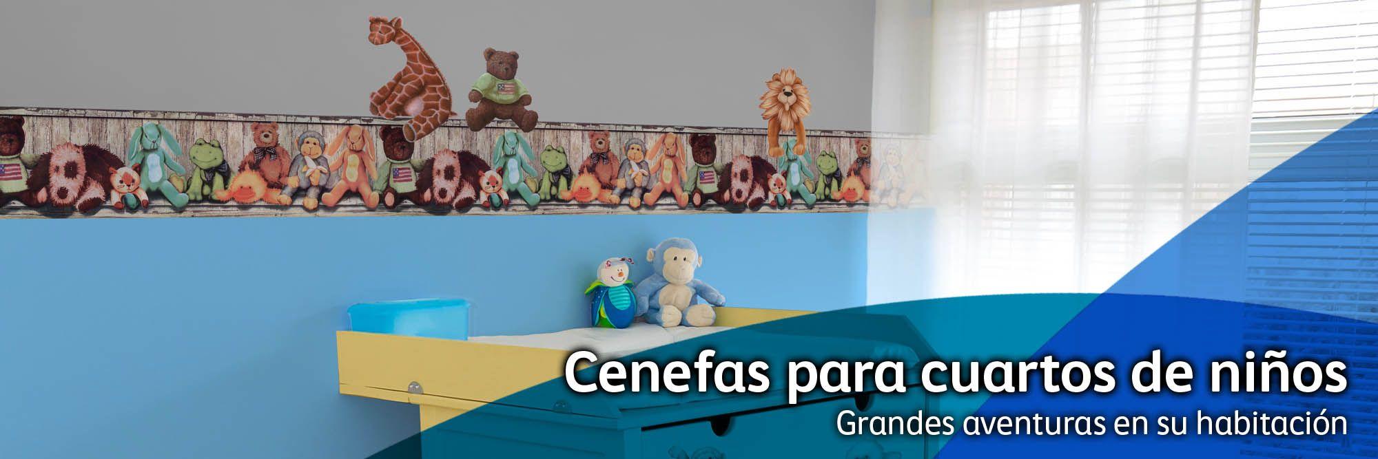 Cenefas para cuartos de niños | Places to Visit | Pinterest