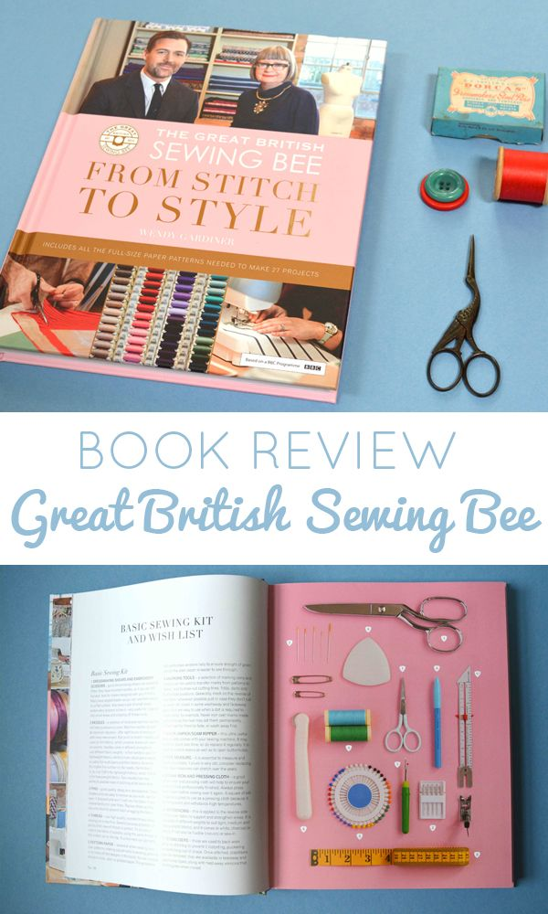 From Stitch to Style - The Great British Sewing Bee Book review. Find out more about this new release and what projects you can expect to find in it