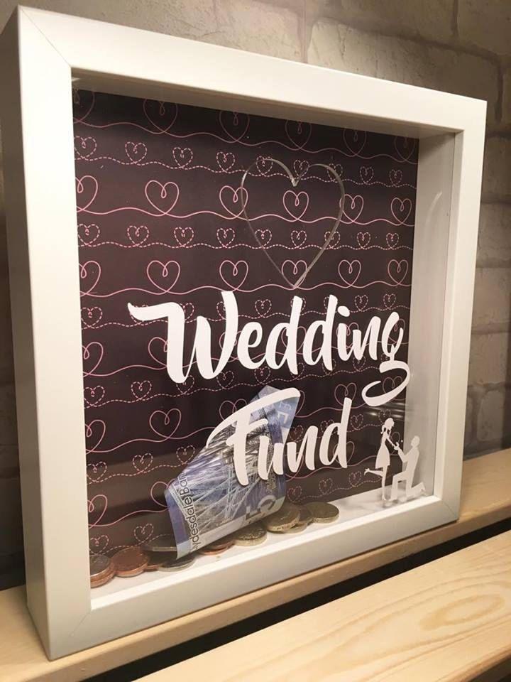 Wedding Fund Money Box Saving Engagement Gift
