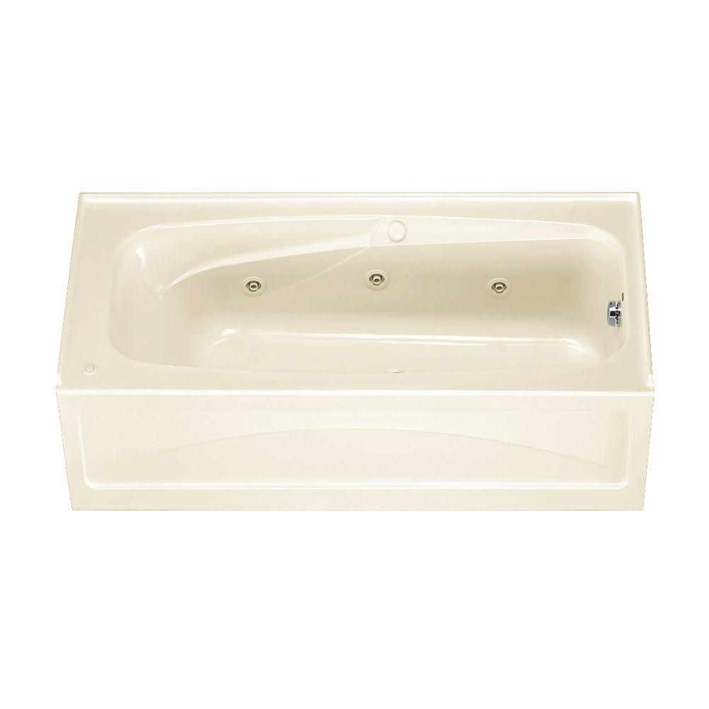 American Standard Colony 5.5 ft. x 32 in. Right Drain Whirlpool Tub ...