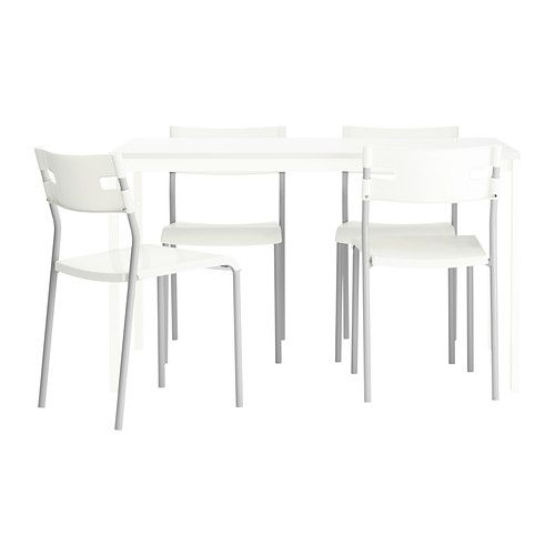 MELLTORP LAVER Table And 4 Chairs IKEA The Top Is Covered With Melamine
