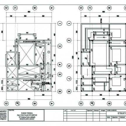 Desain Rumah Type 54 60 Struktur Kamar Mandi In 2018 Pinterest