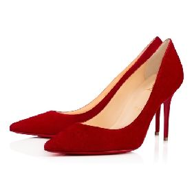 Christian Louboutin United States Official Online Boutique - Decollete 554  85 Carmin Suede available online. Discover more Women Shoes by Christian ...