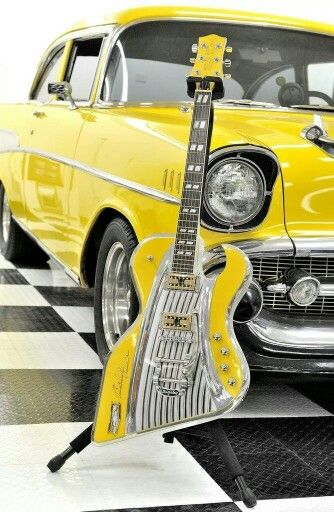 American Showster As57 The 57 Chevy Bass Guitar Http Bass