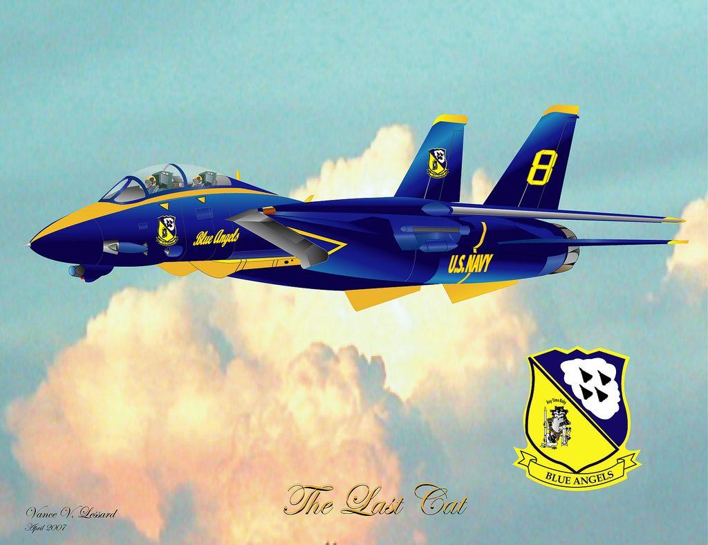 f-14 tomcat blue angels | blue angel f14d the last cat | aircraft