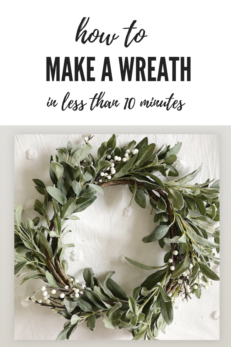 Photo of How to Make a Wreath in Less Than 10 Minutes