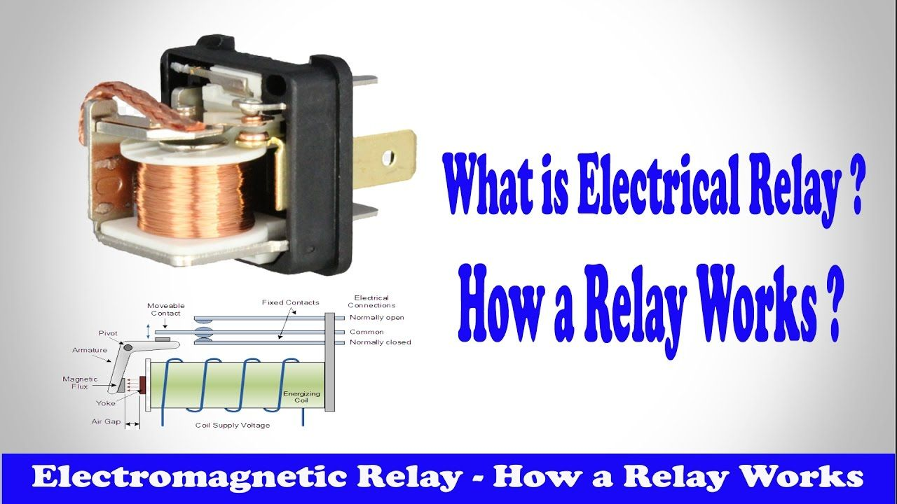 Relay How a Relay Works