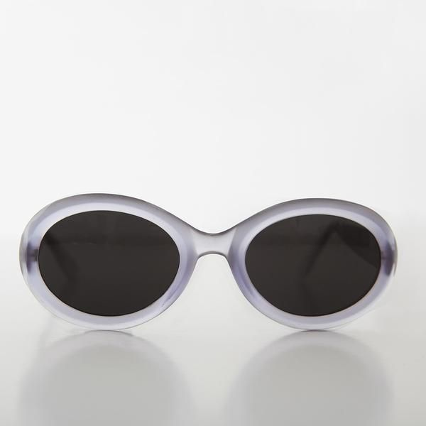 464c722b5e 90s Kurt Cobain Oval Cat Eye Vintage Sunglasses - Macy