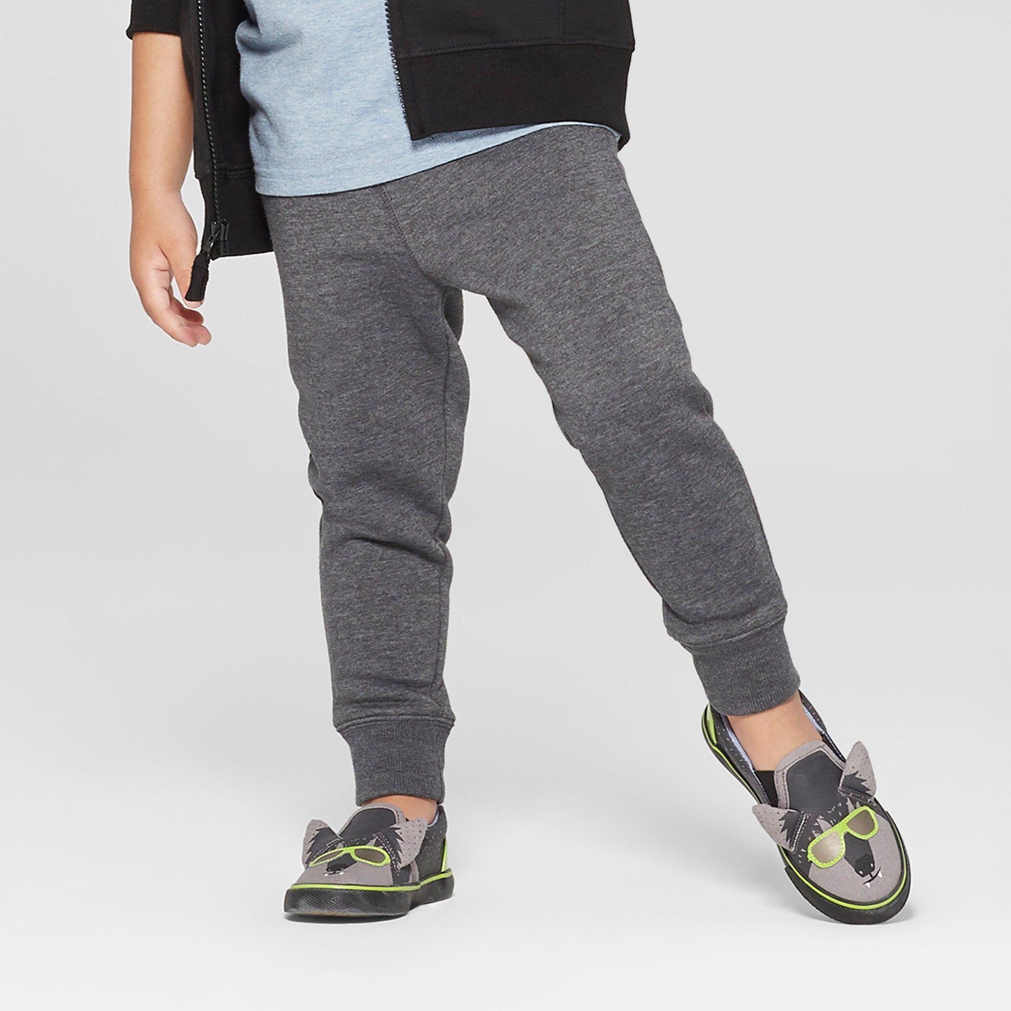 Cat /& Jack Boys Jogger Pants Gray Medium