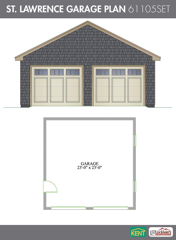 St Lawrence Garage Plan Kent Building Supplies Garage Plan Garage Plans Home Builders