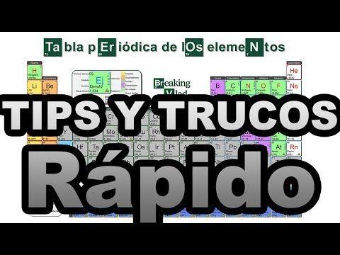 Aprender rpido la tabla peridica tips y trucos youtube audio aprender rpido la tabla peridica tips y trucos youtube urtaz Images