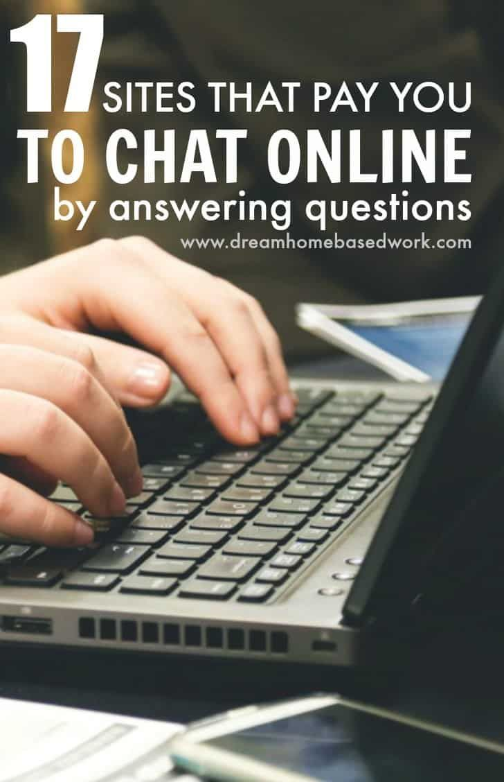 Chat online for money