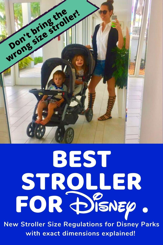 Best Stroller for the New Disney Park Stroller Rules in