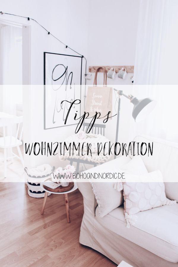 Wohnzimmer Dekoration - ein paar Tipps zur Wandgestaltung