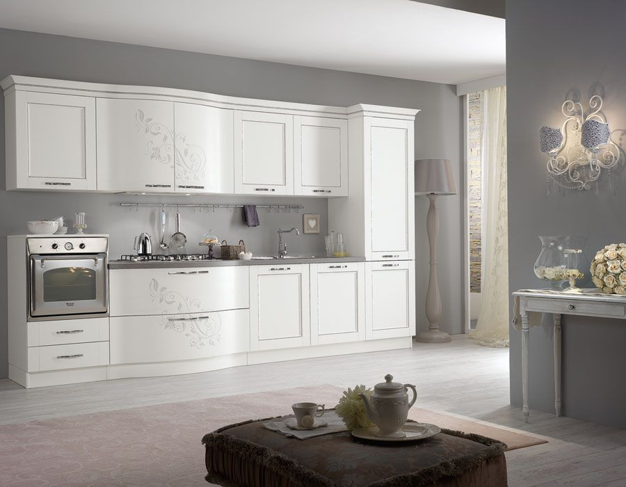 Spar Prestige line: a stylish kitchen and studied in detail, to meet ...
