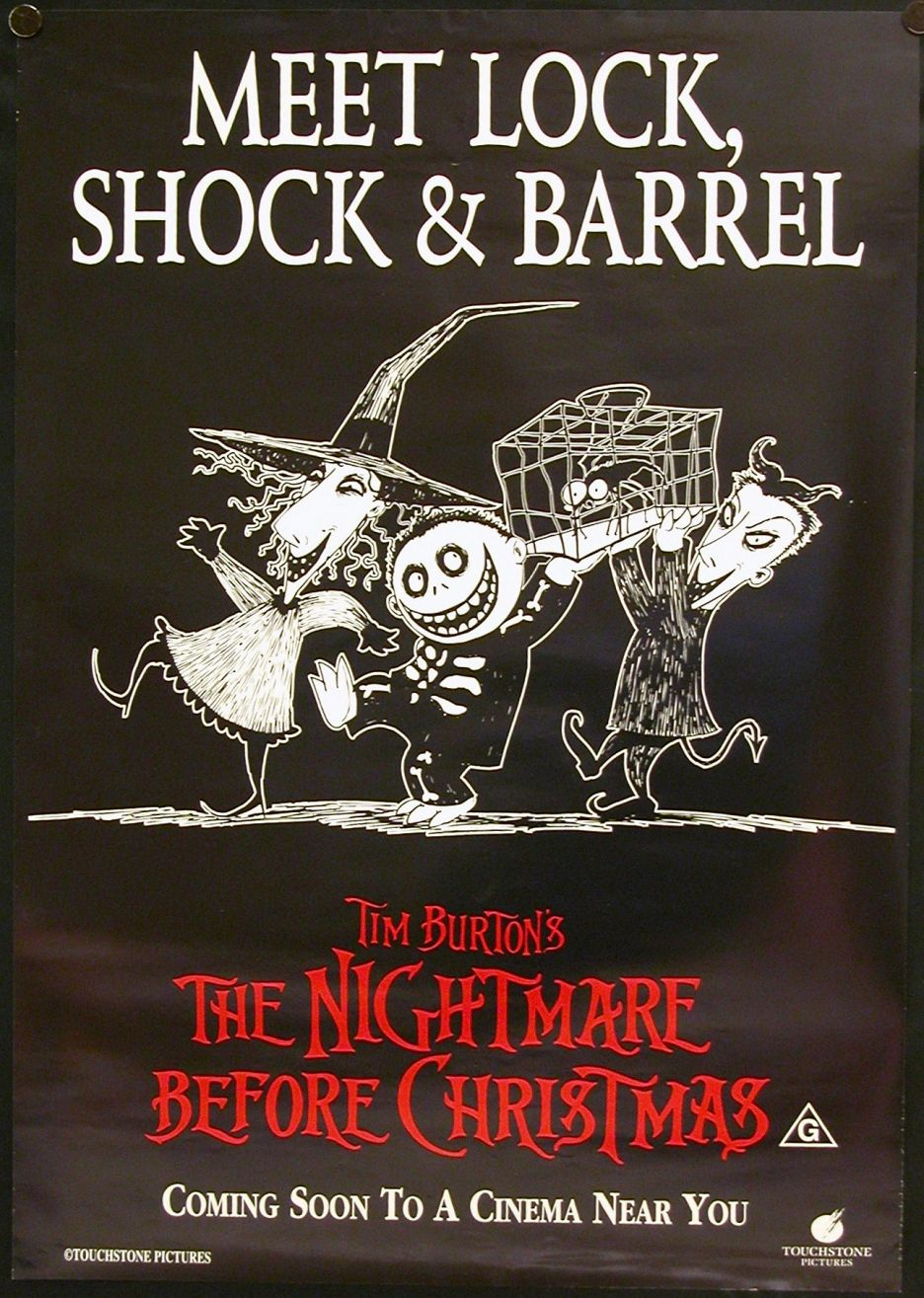 TB065. Meet Lock, Shock and Barrel / The Nightmare before Christmas ...