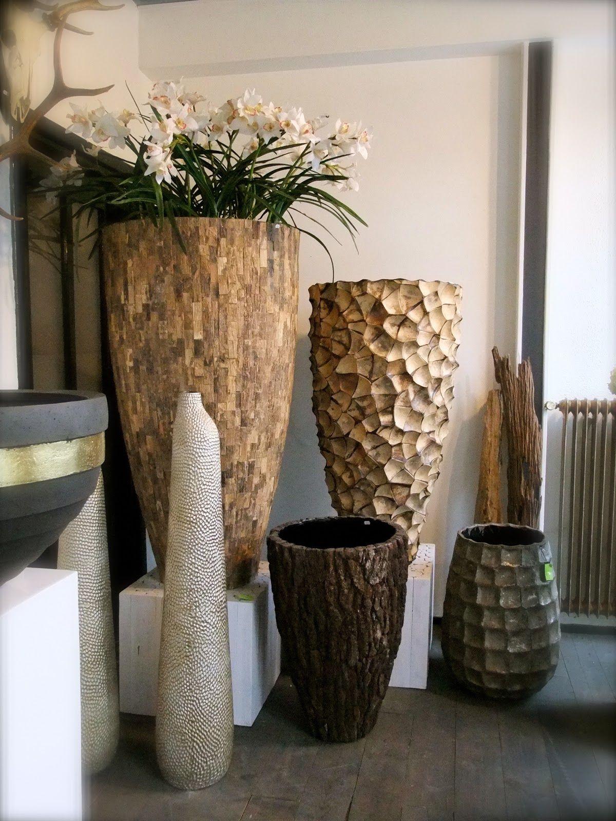 potenvaas sfeer decoratie potten vazen bloemen www